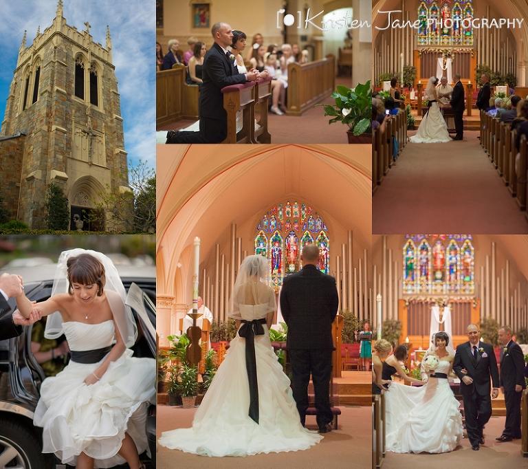 Quincy, MA Ceremony - Boston Wedding Photographer