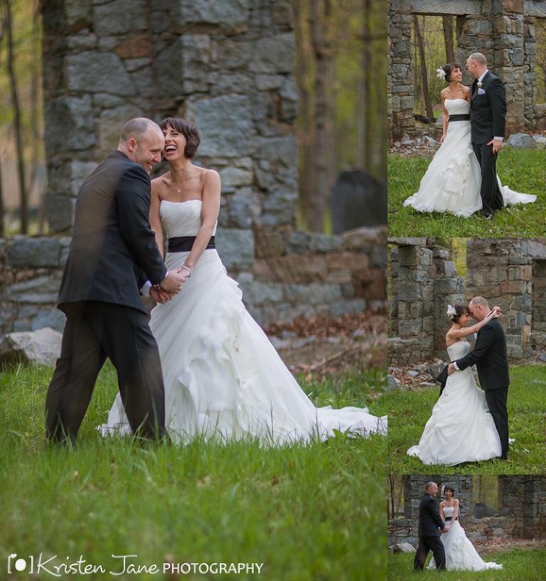 Boston Wedding Photography | Granite Links Ruins