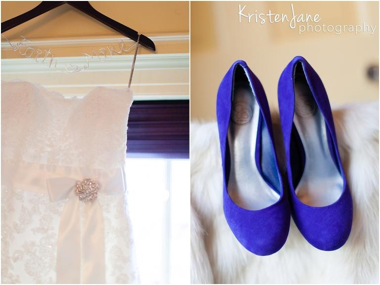 Boston Wedding Photography- Hampshire House Wedding - dress and shoes