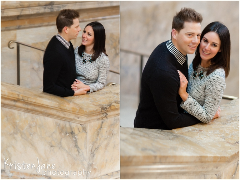 Boston Wedding Photographer - Boston Public Library Engagement