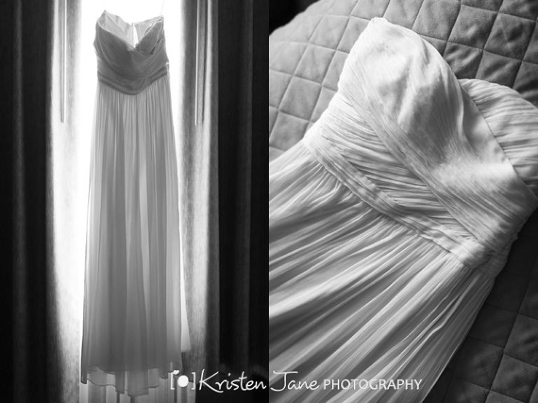 Boston wedding photographer - bridal gown