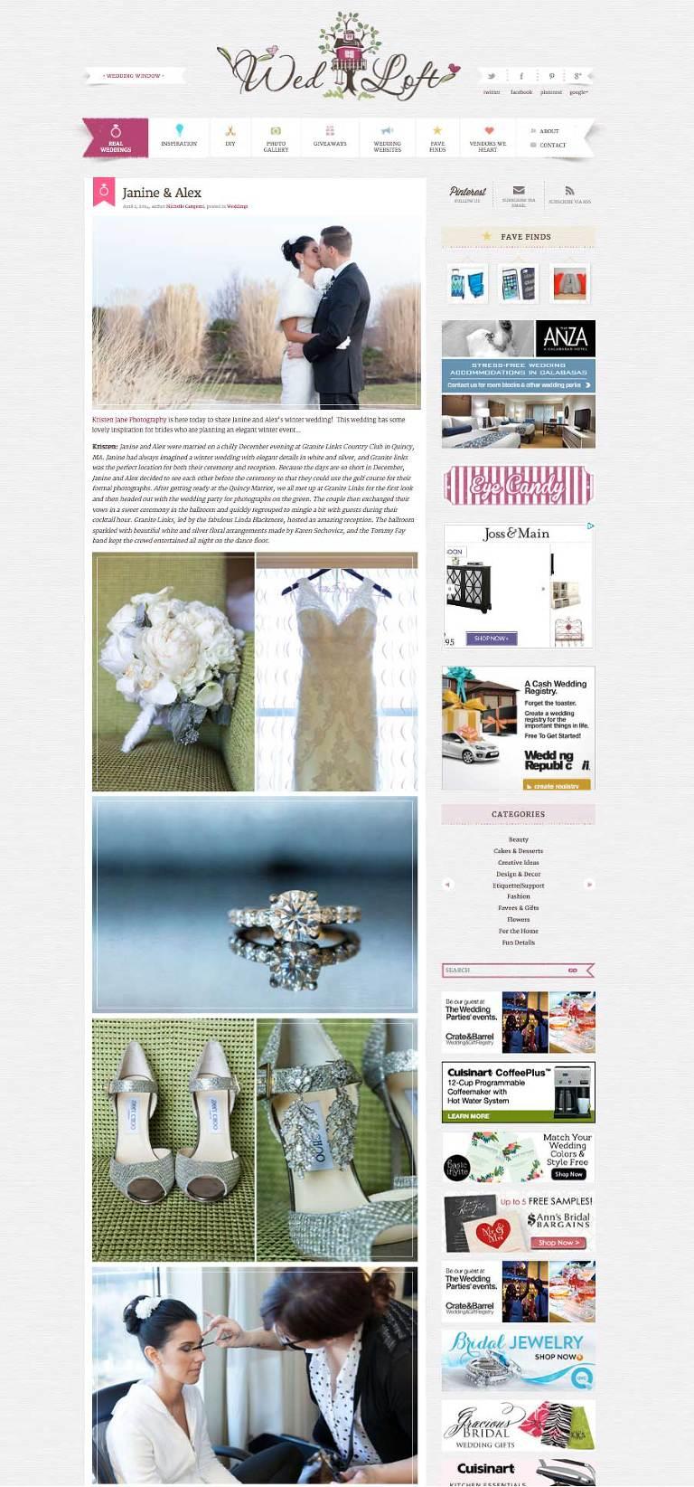 Granite Links Wedding