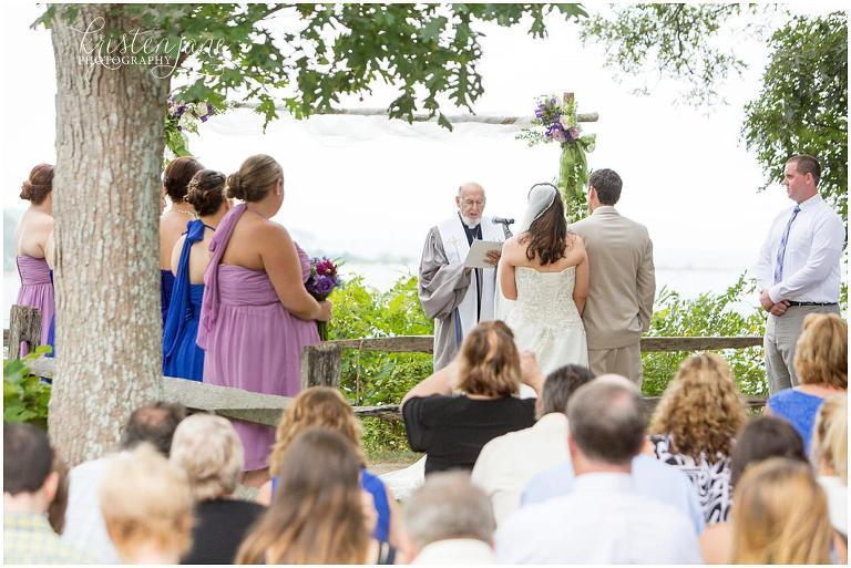 Sailing camp wedding