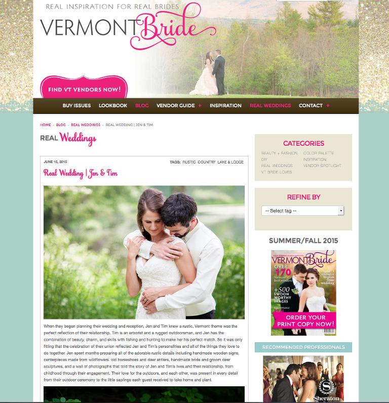 Wallingford Lodge Wedding Vermont